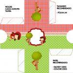 Convite Caixa Tampa Chapeuzinho Vermelho