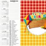 Convite Calendario 2016 2 Festa Junina