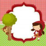 Convite Personalizados Chapeuzinho Vermelho