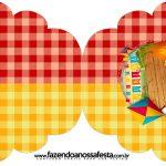 Convite Cupcake Festa Junina