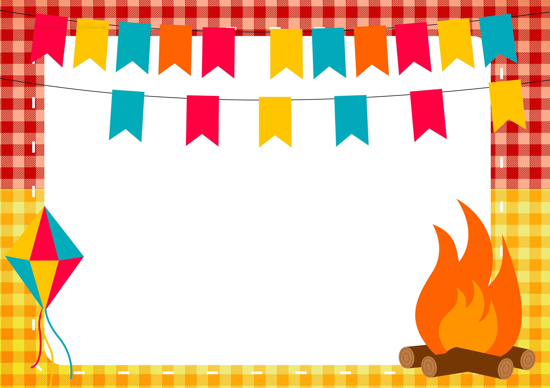 Festa Junina de decoração