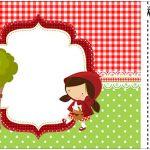 Convite Ingresso Chapeuzinho Vermelho