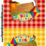 Convite Pirulito Festa Junina