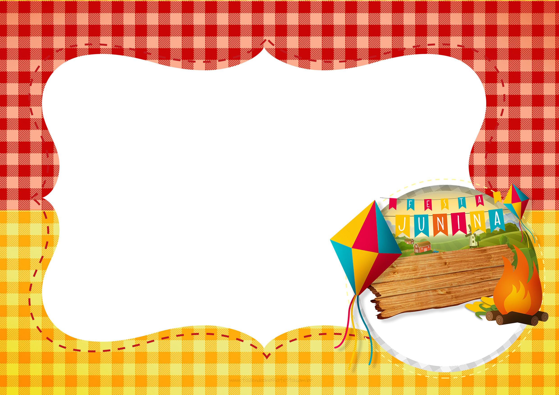 Convite Para Festa Junina Fazendo A Nossa Festa
