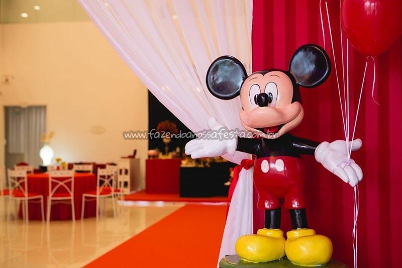 Decoracao Mickey Festa Minnie Vermelha da Maria Clara