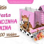Kit Festa Fazendinha Menina – Grátis para Imprimir