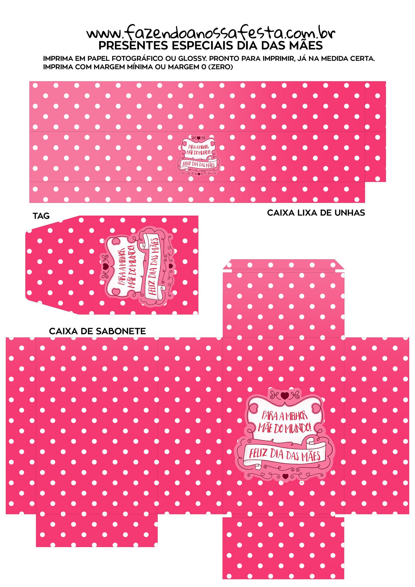 Kit Presente Dia das Maes 11