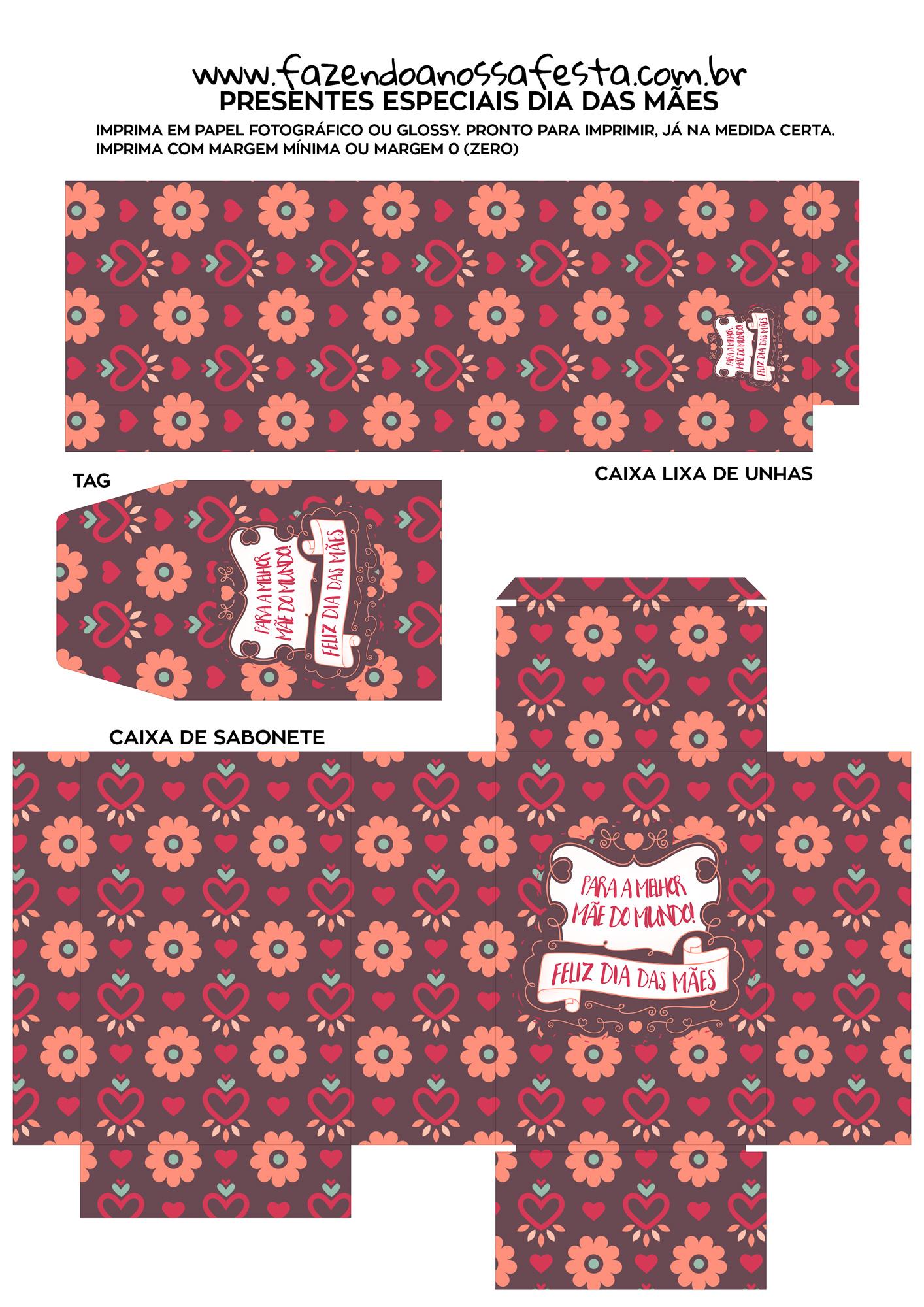 Kit Presente Dia das Maes 9