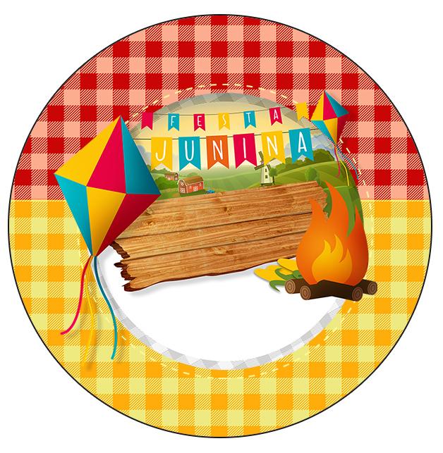 Latinhas e Toppers Festa Junina Fazendo a Nossa Festa