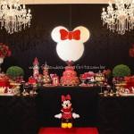 Mesa dos Doces Festa Minnie Vermelhea Maria Clara