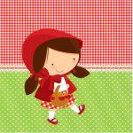 Mini Confeti Chapeuzinho Vermelho