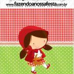 Mini Pastilha Docile Chapeuzinho Vermelho