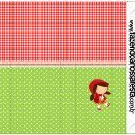 Pirulito Mastigável Personalizados Chapeuzinho Vermelho