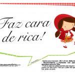 Plaquinhas Chapeuzinho Vermelho 13