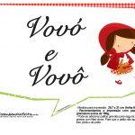 Plaquinhas Chapeuzinho Vermelho 16