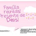 Plaquinhas Chuva de Benção para Meninas 25