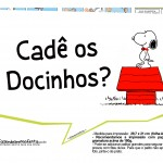Plaquinhas Divertidas Snoopy 2