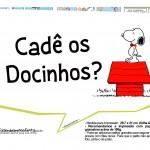 Plaquinhas Divertidas Snoopy 2