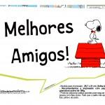 Plaquinhas Divertidas Snoopy 5
