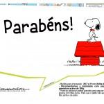 Plaquinhas Divertidas Snoopy 7