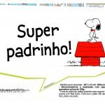 Plaquinhas para festa Snoopy 9