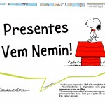 Plaquinhas Snoopy 1