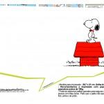 Plaquinhas Snoopy 18