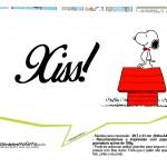 Plaquinhas Snoopy 19