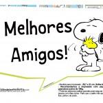 Plaquinhas Snoopy 23