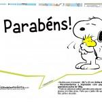Plaquinhas Snoopy 25