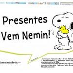 Plaquinhas Snoopy 29