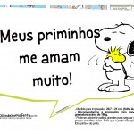 Plaquinhas Snoopy 45