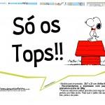 Plaquinhas Snoopy 6