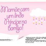 Plaquinhas divertidas Chuva de Bencao para Meninas 17