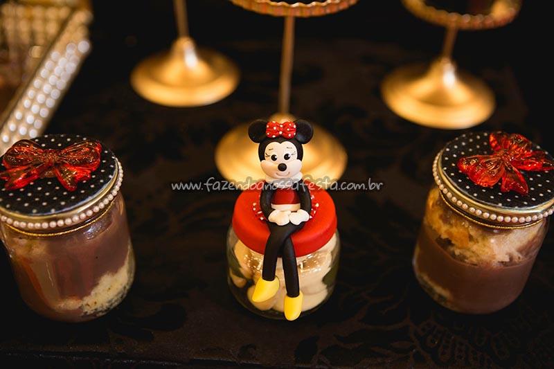 Pote Papinha 2 Festa Minnie Vermelha da Maria Clara