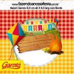 Rotulo Baton Garoto Festa Junina