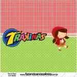 Rótulo Trakinas Personalizados Chapeuzinho Vermelho