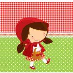 Rotulo Espumante Personalizados Chapeuzinho Vermelho