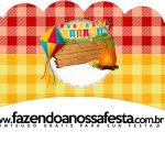 Saias Wrappers para Cupcakes 2 Festa Junina