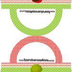 Saquinho de Balas Bolsinha Personalizados Chapeuzinho Vermelho