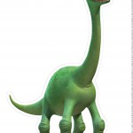 Totem de Mesa O Bom Dinossauro - Frente