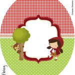 Tubete Oval Chapeuzinho Vermelho