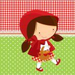 Tubete Personalizados Chapeuzinho Vermelho
