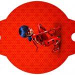 Bandeirinha Sanduiche 4 Miraculous Ladybug
