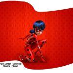 Bandeirinha Sanduiche Miraculous Ladybug