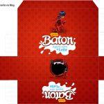 Caixa Baton Miraculous Ladybug