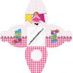 Caixa Festa Junina Rosa