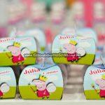 Caixa Festa Peppa Pig Princesa da Julia