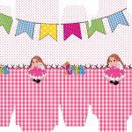 Caixa Sabonete Festa Junina Rosa