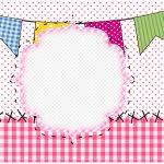 Caixa bombom 2 Festa Junina Rosa